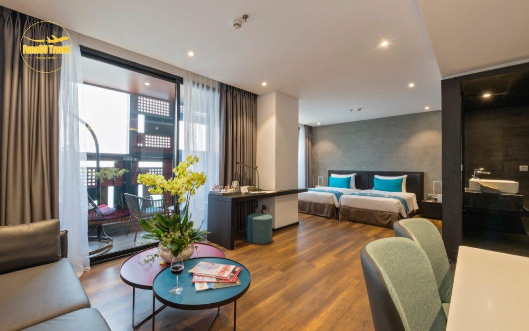 khuyến mãi khách sạn The Code Hotel & Spa Đà Nẵng
